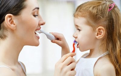Tips for Brushing Children's Teeth